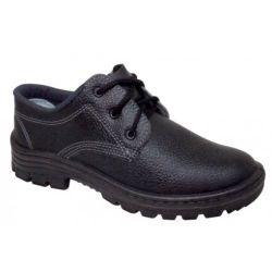 Ref: 0014 - Sapato Cordão Cartom Sem Bico de Aço - Monodensidade