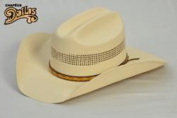 Ref: 6000R - Chapéu Country Dallas Rendado Natural