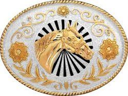 Ref: 6330 - Fivela Country Cabeça de Cavalo