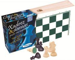 Ref: 6006 - Jogo de Xadrez e Damas Xalingo