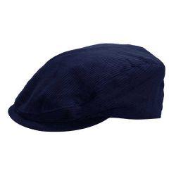 Ref: 7001 - Boina Trapani Veludo Azul Marinho