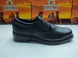 Ref: 126 - Sapato Elástico Zelão Preto