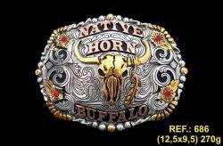 Ref: 686 - Fivela Country Master Native Horn Buffalo