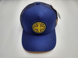Ref: TH03 - Boné Texas Head Medalhão de São Bento Azul