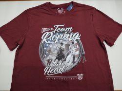 Ref: C002 - Camiseta Country Texas Head Team Roping