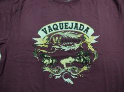 Ref: EST10 - Camiseta Country Life Western Vaquejada Cereja